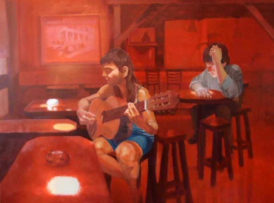ACORDES DISCORDES |Pintura de Bianca Demo | Compra arte en Flecha.es