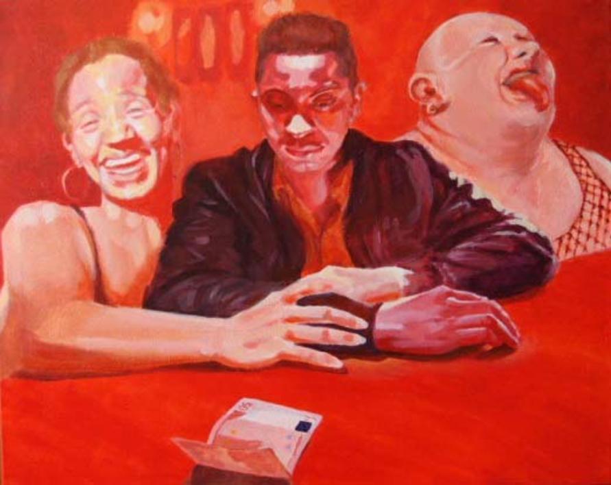 LA CUENTA |Pintura de Bianca Demo | Compra arte en Flecha.es
