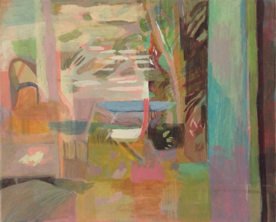 Jardin enchanté |Pintura de Iria | Compra arte en Flecha.es