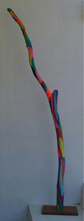 Báculo |Escultura de Johnny Dominguez | Compra arte en Flecha.es