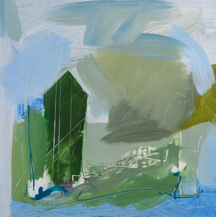 PAISAJE INTUITIVO 3 |Pintura de JCuenca | Compra arte en Flecha.es