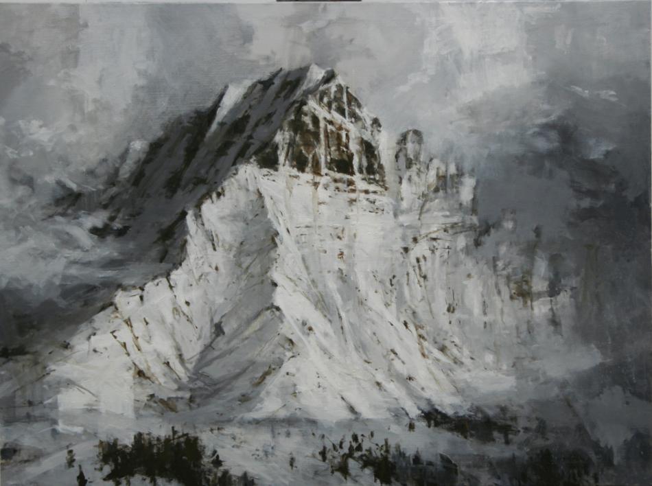Snow n 3 |Pintura de Calo Carratalá | Compra arte en Flecha.es