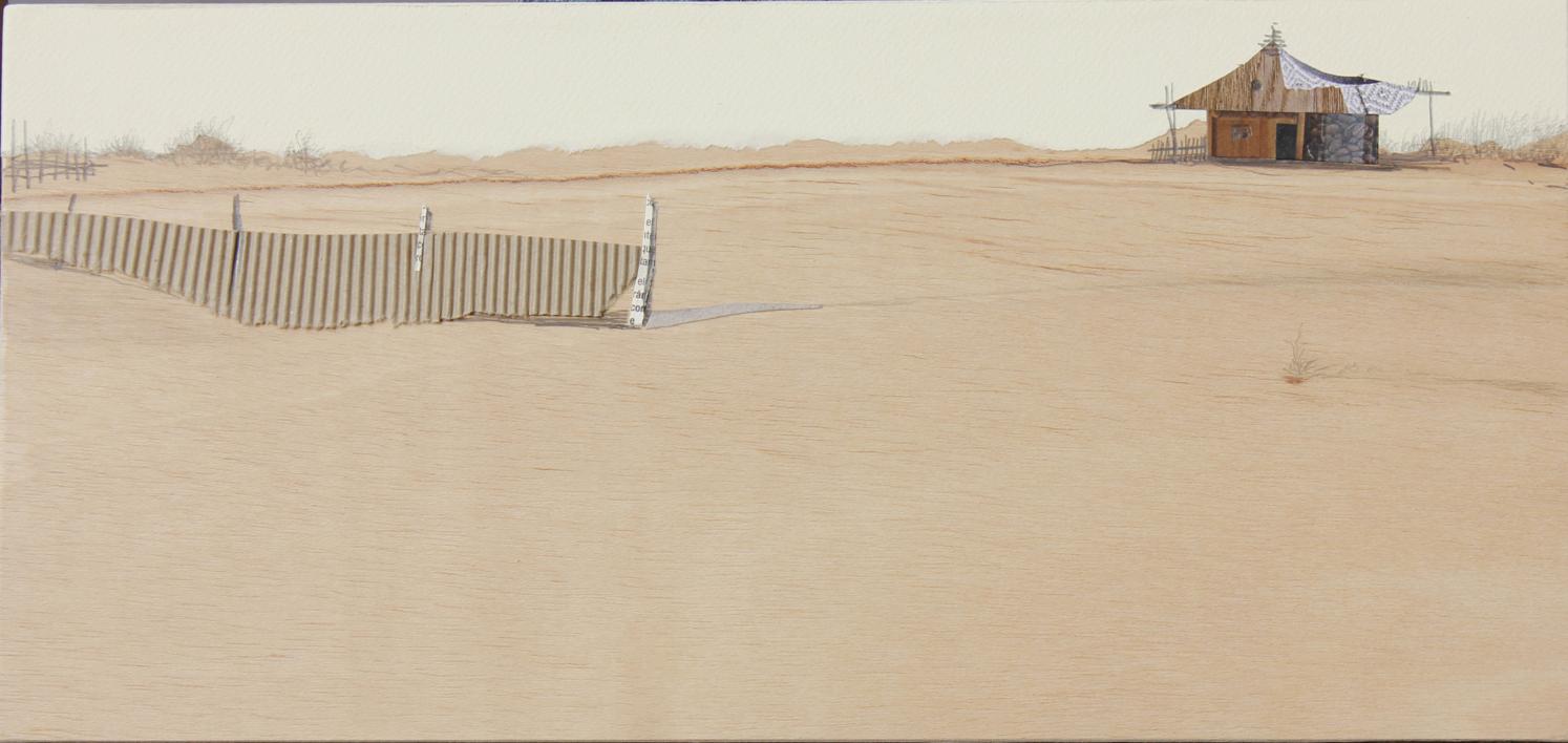 Sedentarios XXXV |Collage de Eduardo Query | Compra arte en Flecha.es