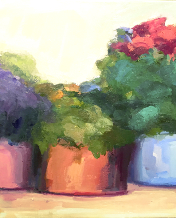 Lugares y Jardines Imaginarios VIII |Pintura de Teresa Muñoz | Compra arte en Flecha.es