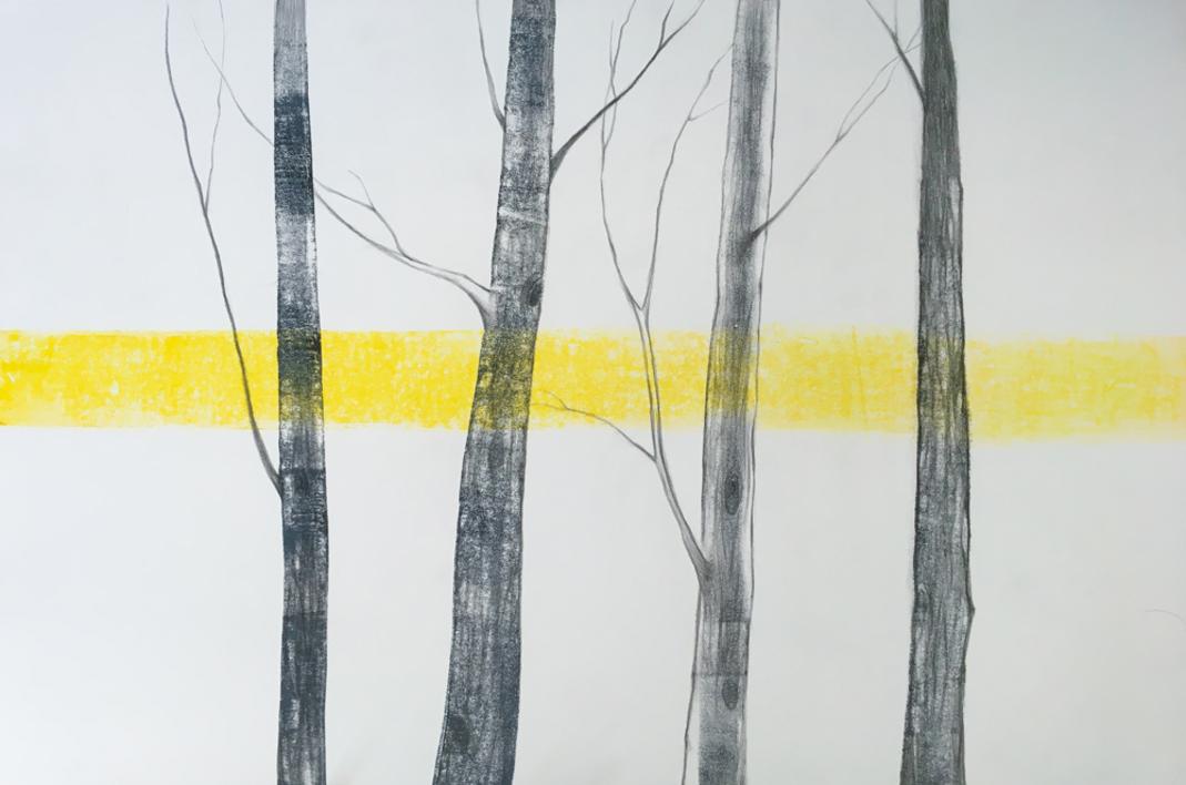 Arboles 2 |Obra gráfica de Milena Mateva | Compra arte en Flecha.es