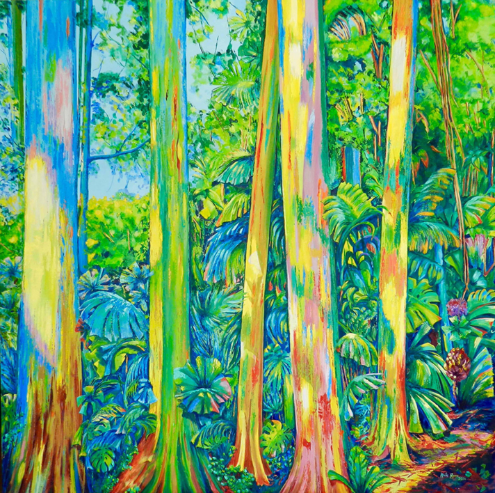 Kingdom of Surawak |Pintura de Maite Rodriguez | Compra arte en Flecha.es
