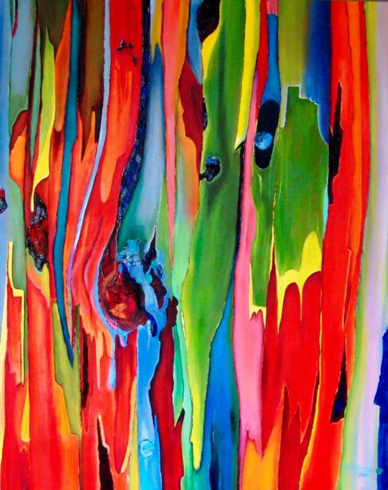 Sunda |Pintura de Maite Rodriguez | Compra arte en Flecha.es
