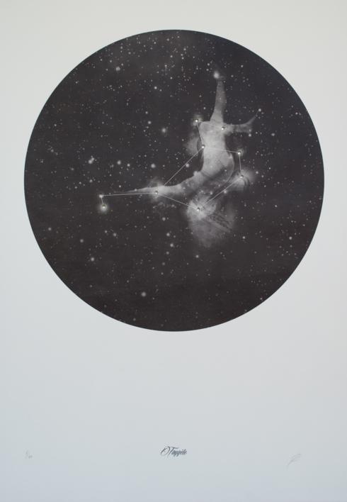 Taygete |Obra gráfica de Elisa de la Torre | Compra arte en Flecha.es
