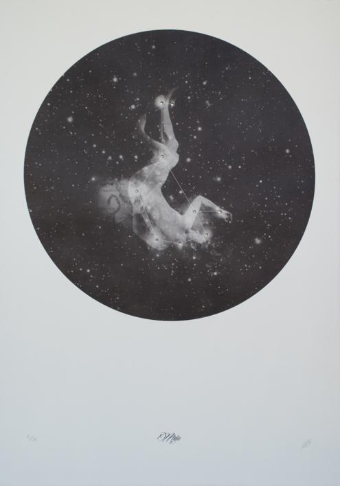 Maia |Obra gráfica de Elisa de la Torre | Compra arte en Flecha.es