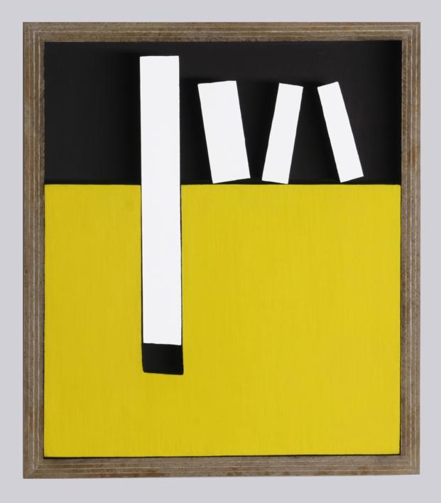 Móvil Interactivo   0089 posición  A |Collage de Manuel Izquierdo | Compra arte en Flecha.es