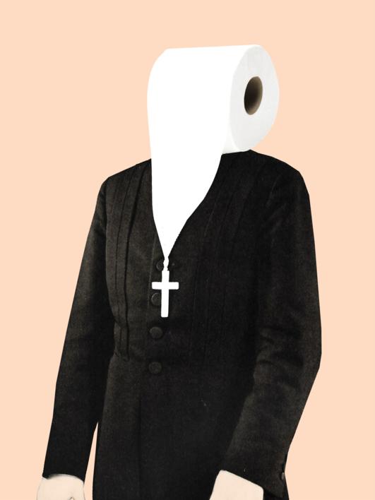 Holy Roll |Collage de Jaume Serra Cantallops | Compra arte en Flecha.es