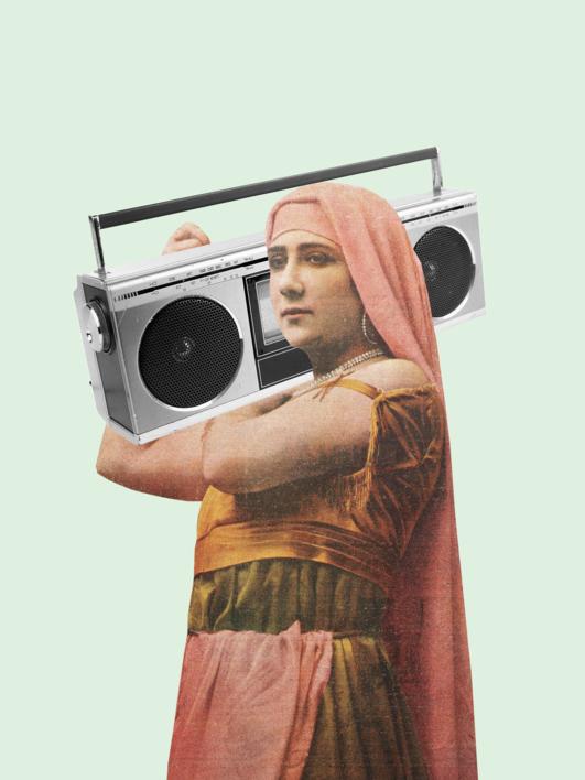 Rap |Collage de Jaume Serra Cantallops | Compra arte en Flecha.es