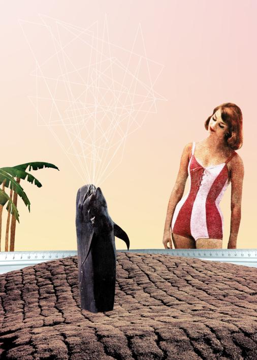 Palms |Collage de Jaume Serra Cantallops | Compra arte en Flecha.es