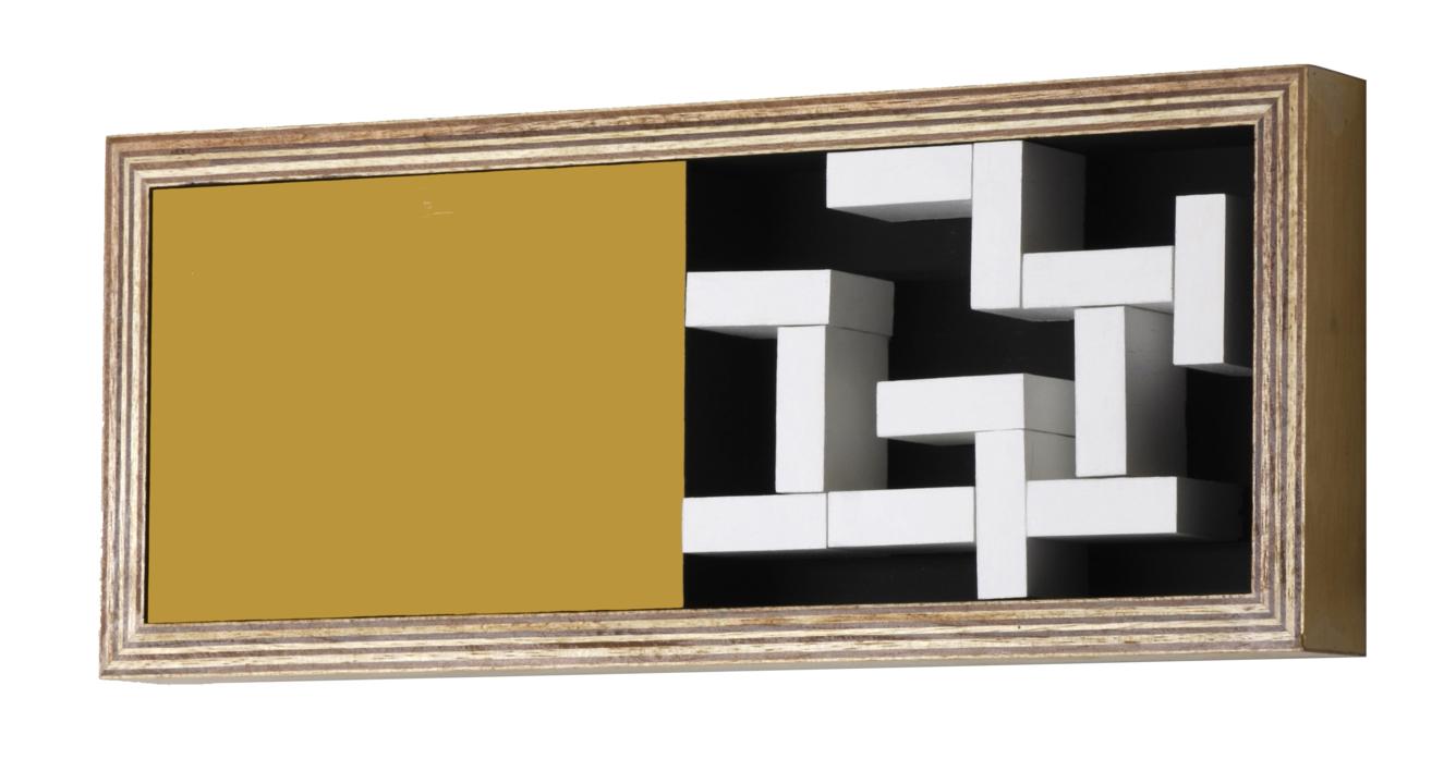 Móvil Interactivo 0135 | Escultura de pared de Manuel Izquierdo | Compra arte en Flecha.es