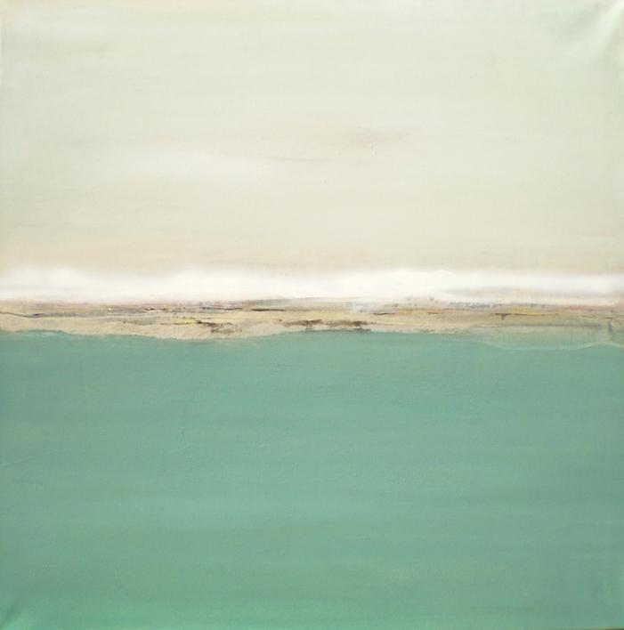 Descansando en un mar azul y profundo |Pintura de Esther Porta | Compra arte en Flecha.es