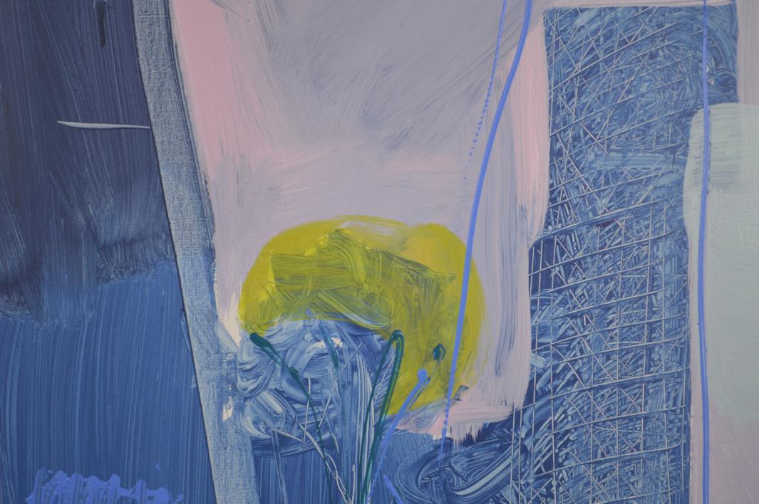 PAISAJE INTUITIVO 6 | Pintura de JCuenca | Compra arte en Flecha.es