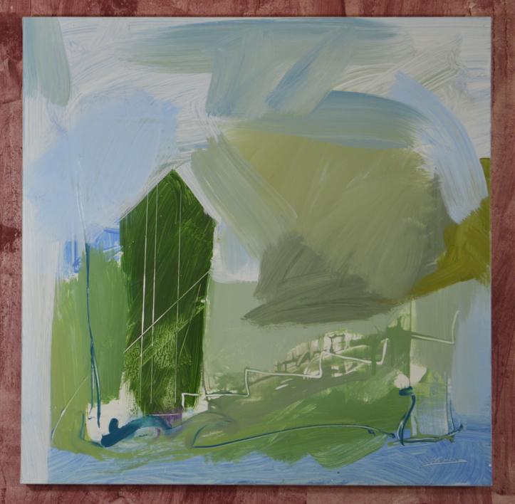 PAISAJE INTUITIVO 3 | Pintura de JCuenca | Compra arte en Flecha.es