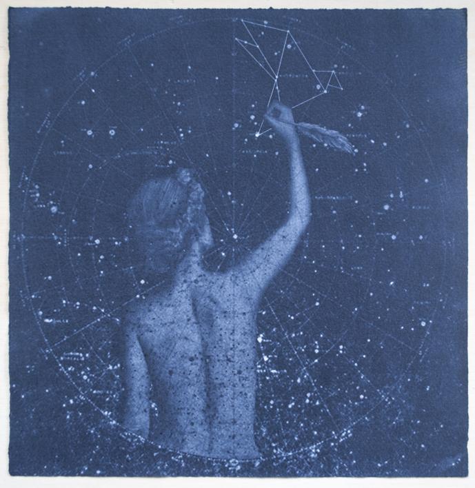 Origami constellation |Obra gráfica de Elisa de la Torre | Compra arte en Flecha.es