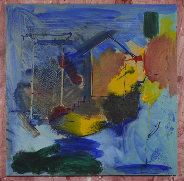 JULIO12   Pintura de JCuenca   Compra arte en Flecha.es