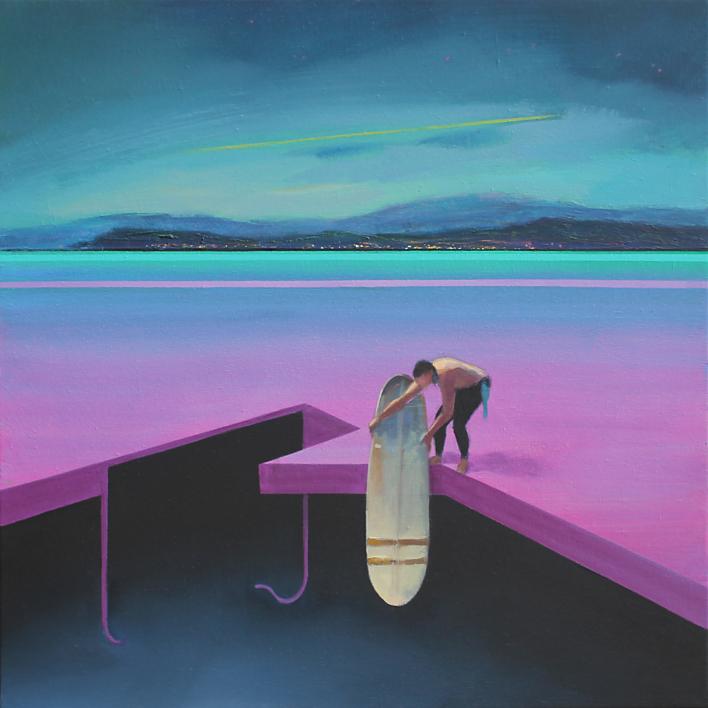 Refugio 3 |Pintura de Benito Salmerón | Compra arte en Flecha.es