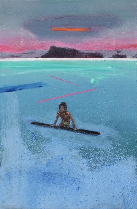 Refugio 12 |Pintura de Benito Salmerón | Compra arte en Flecha.es