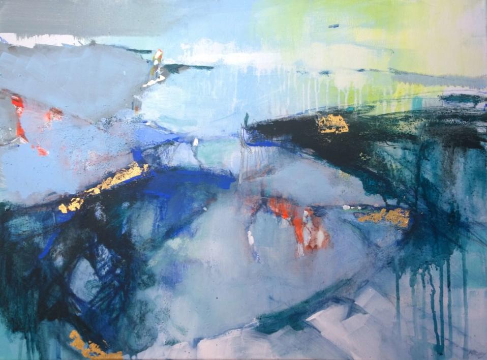 Tiktaalik 1 |Pintura de Magdalena Morey | Compra arte en Flecha.es