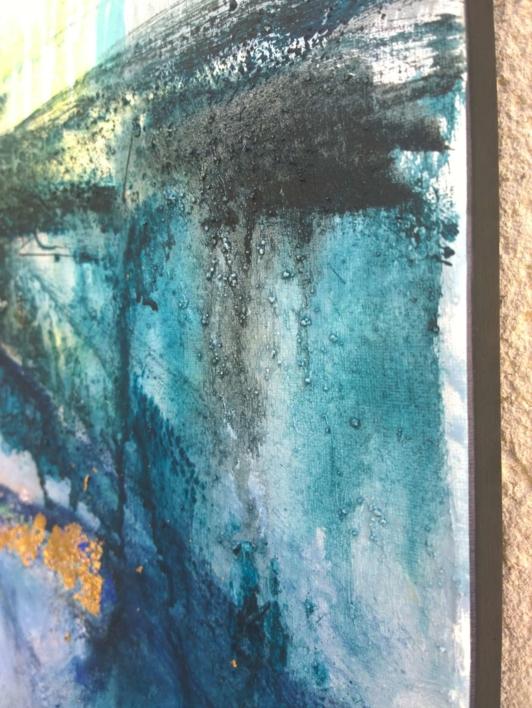 Tiktaalik 1 | Pintura de Magdalena Morey | Compra arte en Flecha.es