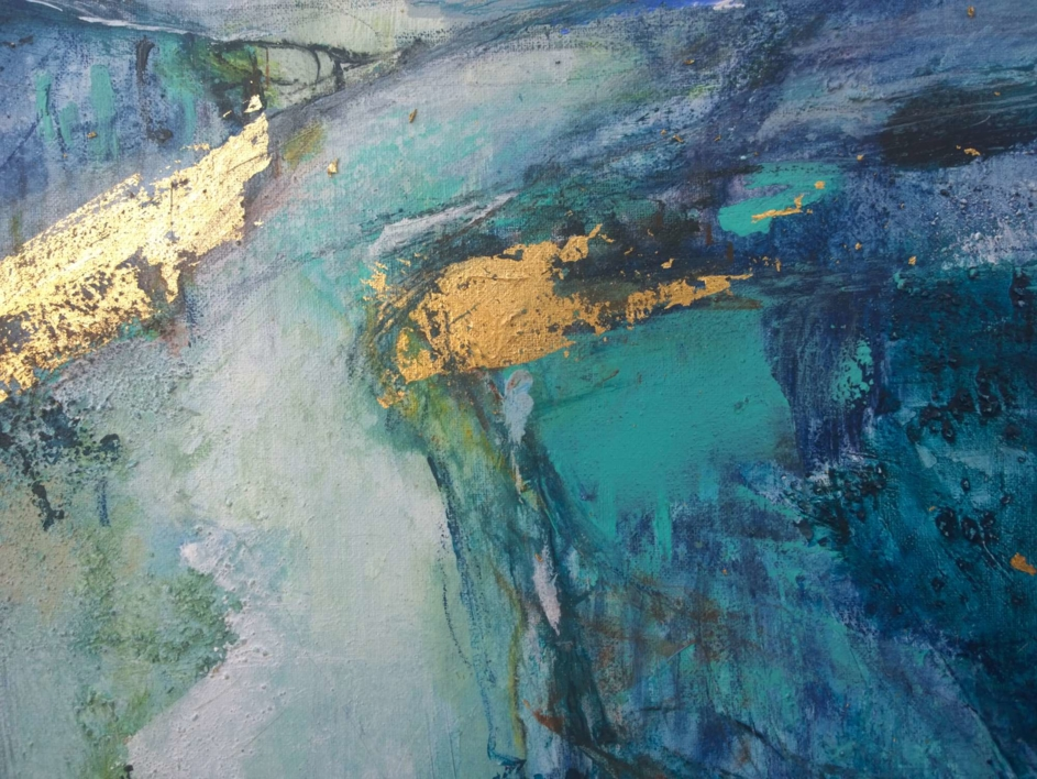 Tiktaalik 2 | Pintura de Magdalena Morey | Compra arte en Flecha.es