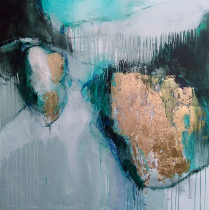 Lost and Found: The Island |Pintura de Magdalena Morey | Compra arte en Flecha.es
