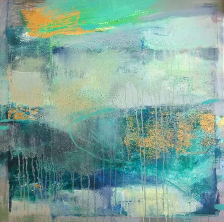 Exploration 3  Pintura de Magdalena Morey   Compra arte en Flecha.es