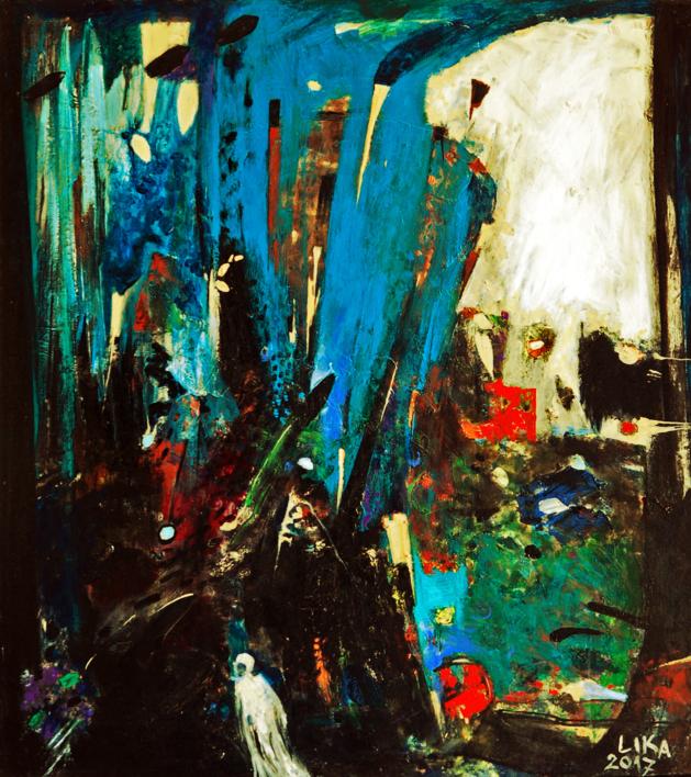 La puerta del infinito |Pintura de Lika | Compra arte en Flecha.es