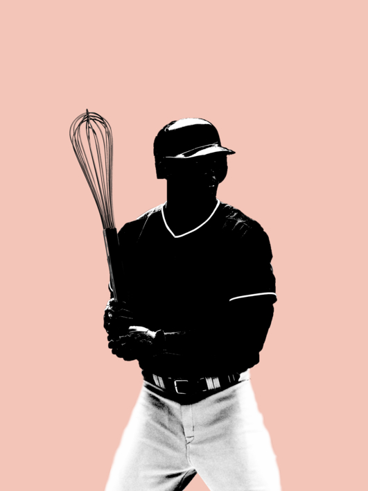 Nu Baseball |Collage de Jaume Serra Cantallops | Compra arte en Flecha.es