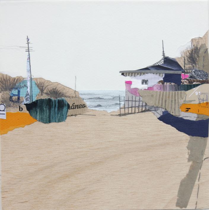 Sedentarios XLI  Collage de Eduardo Query   Compra arte en Flecha.es