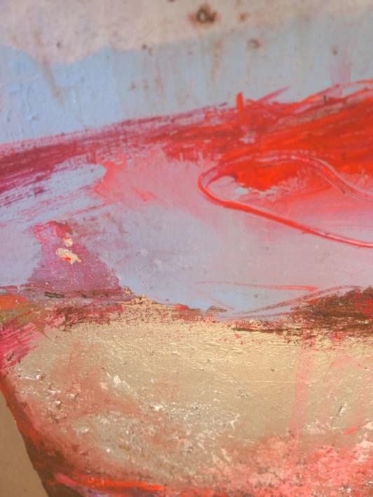 Abrasion: Graze the Sky | Pintura de Magdalena Morey | Compra arte en Flecha.es