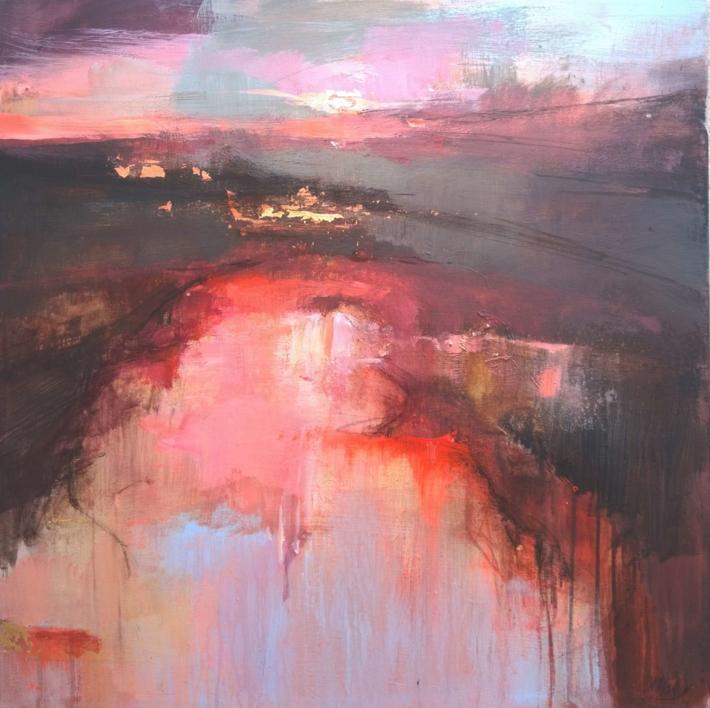 From the Distance 2 |Pintura de Magdalena Morey | Compra arte en Flecha.es