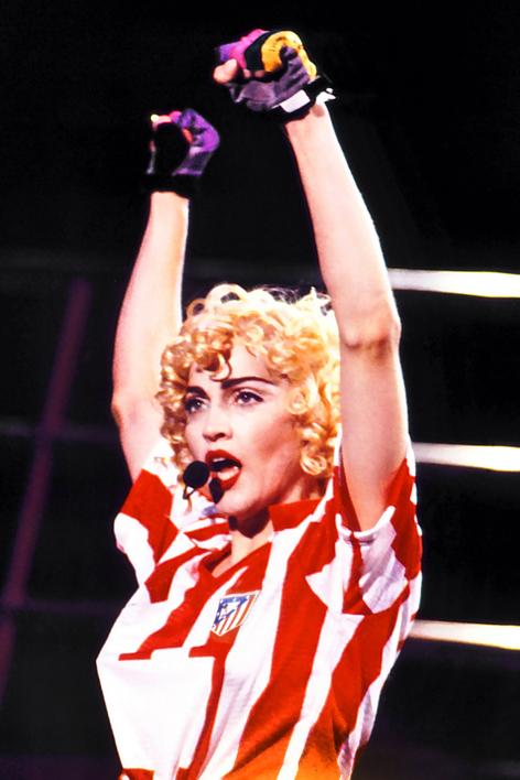 Madonna en concierto  en El Vicente Calderon |Fotografía de Domingo J. Casas | Compra arte en Flecha.es