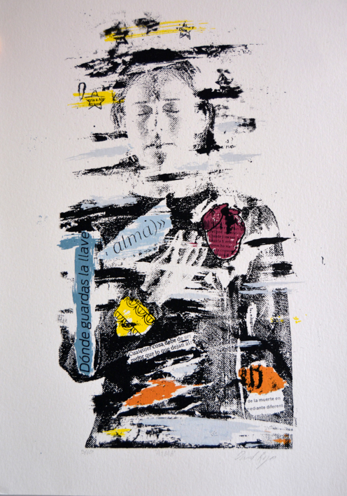 Alma  Obra gráfica de David Rojas   Compra arte en Flecha.es