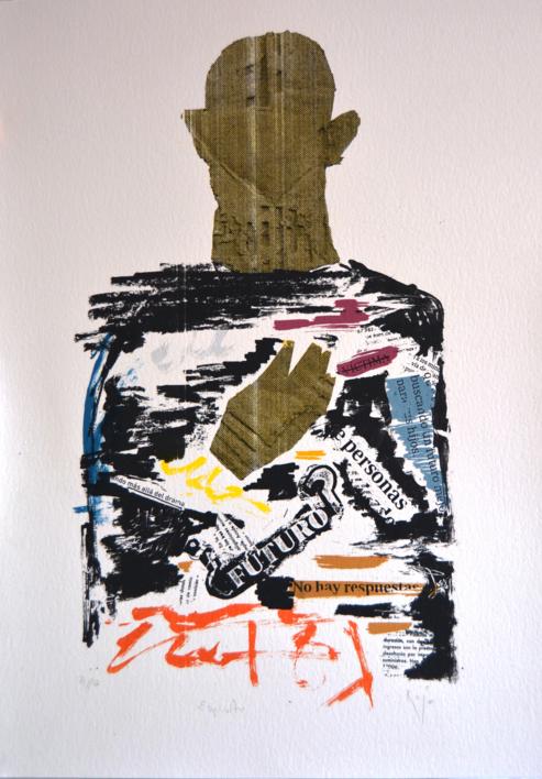 Espíritu  Collage de David Rojas   Compra arte en Flecha.es