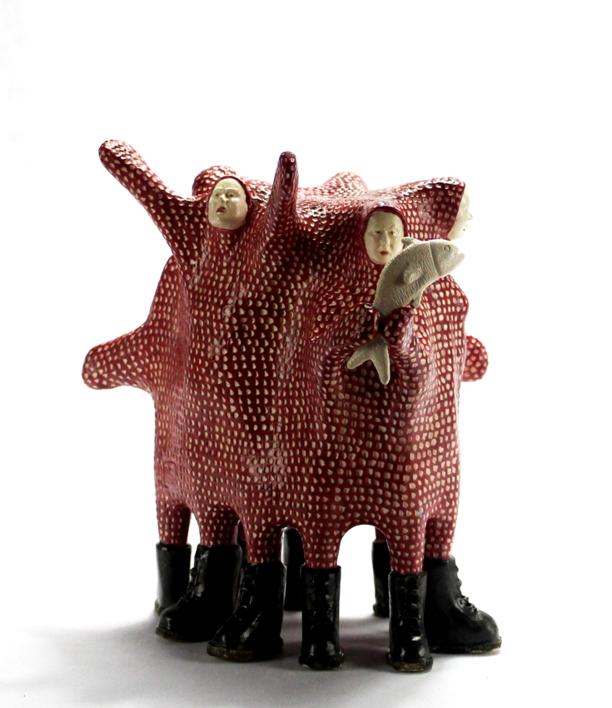 Angustias |Escultura de Rayaduradesandía | Compra arte en Flecha.es