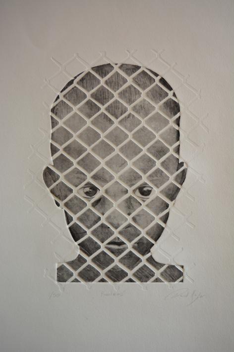 Fronteras |Obra gráfica de David Rojas | Compra arte en Flecha.es