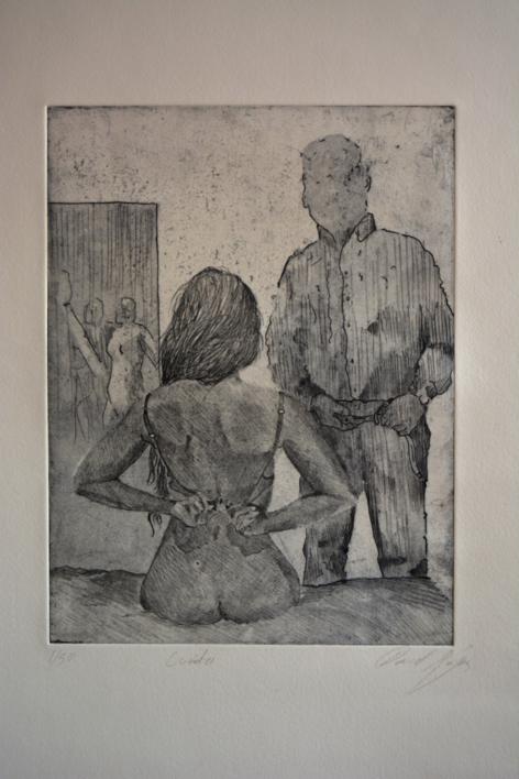 Cuanto |Obra gráfica de David Rojas | Compra arte en Flecha.es
