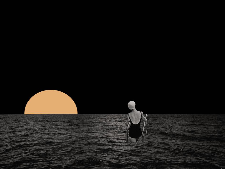 Sol |Collage de Jaume Serra Cantallops | Compra arte en Flecha.es