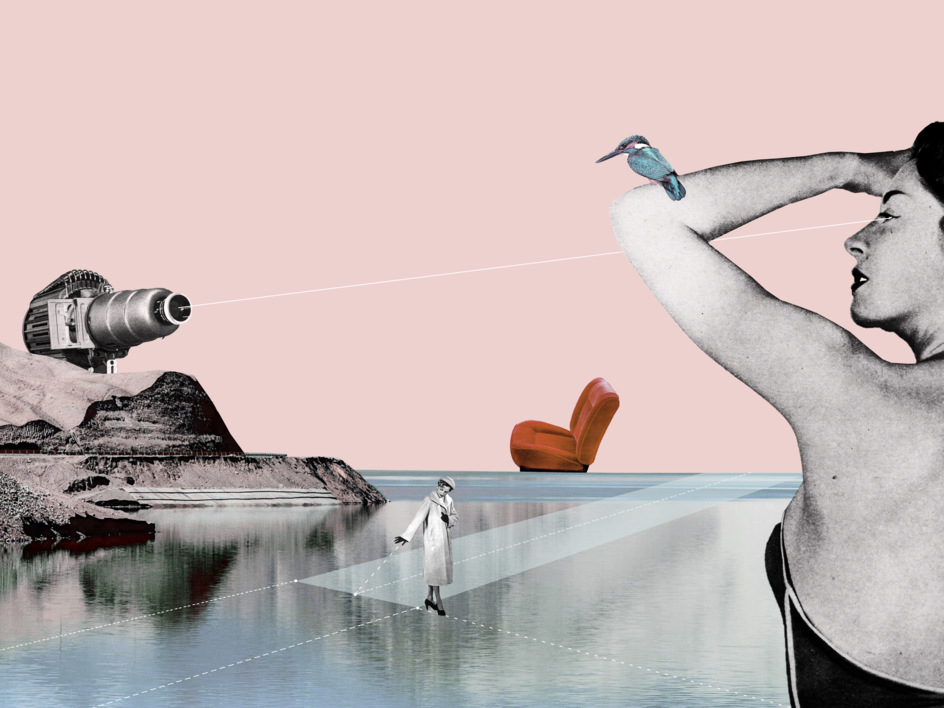 Ready To Attack |Collage de Jaume Serra Cantallops | Compra arte en Flecha.es