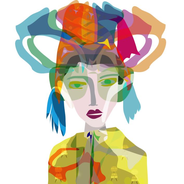 Encuentro en Lima |Digital de Mariana sanz POPNTOPMAD | Compra arte en Flecha.es