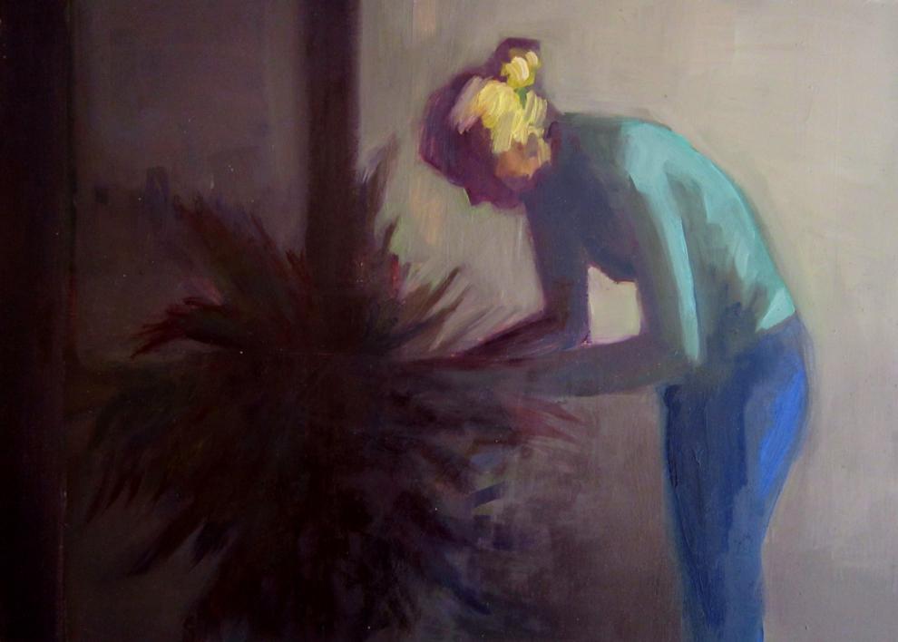 Tiempo de botánica |Pintura de Carmen Montero | Compra arte en Flecha.es