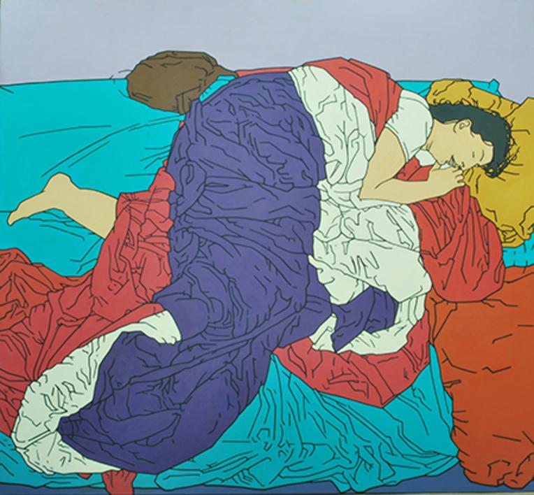 La Vera |Pintura de Cova Mejía | Compra arte en Flecha.es