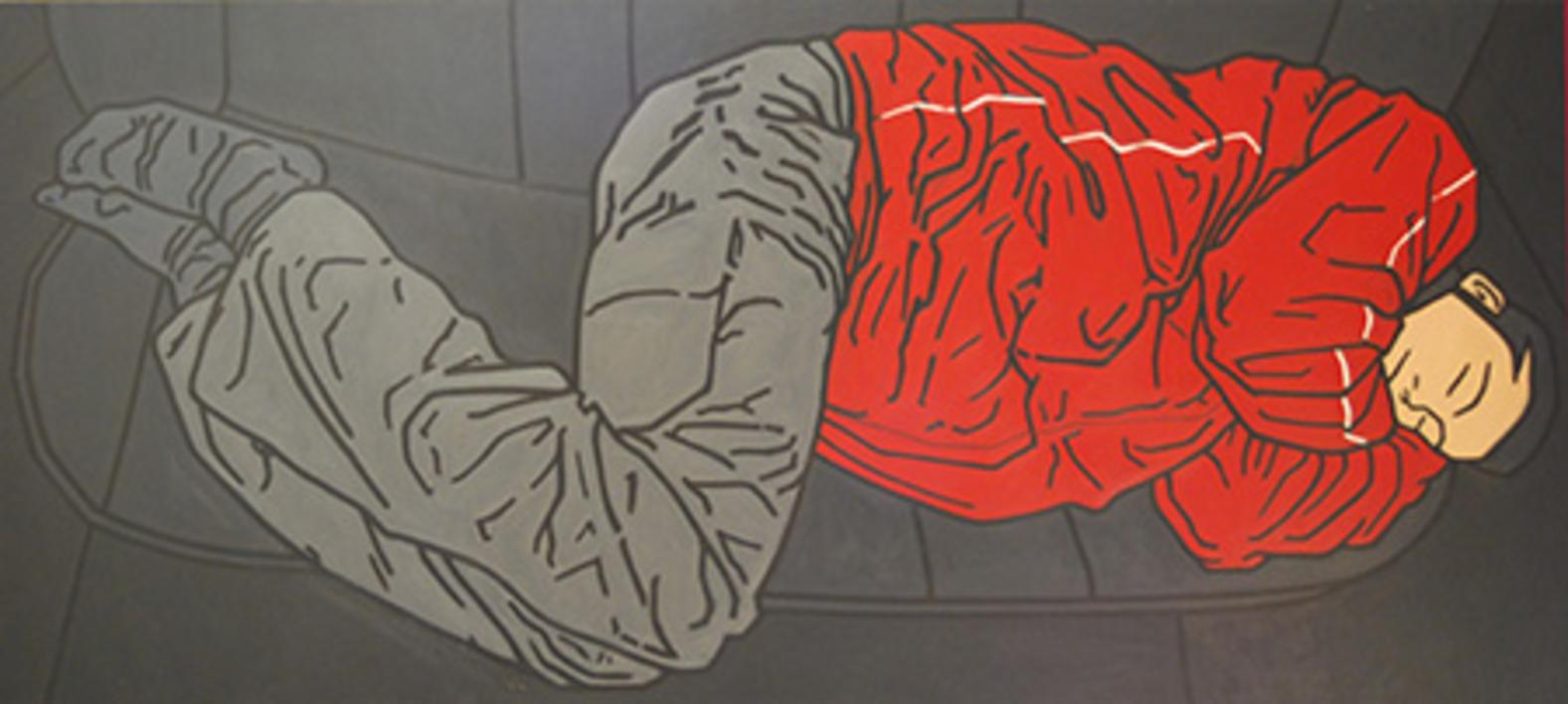 Negro y Rojo |Pintura de Cova Mejía | Compra arte en Flecha.es