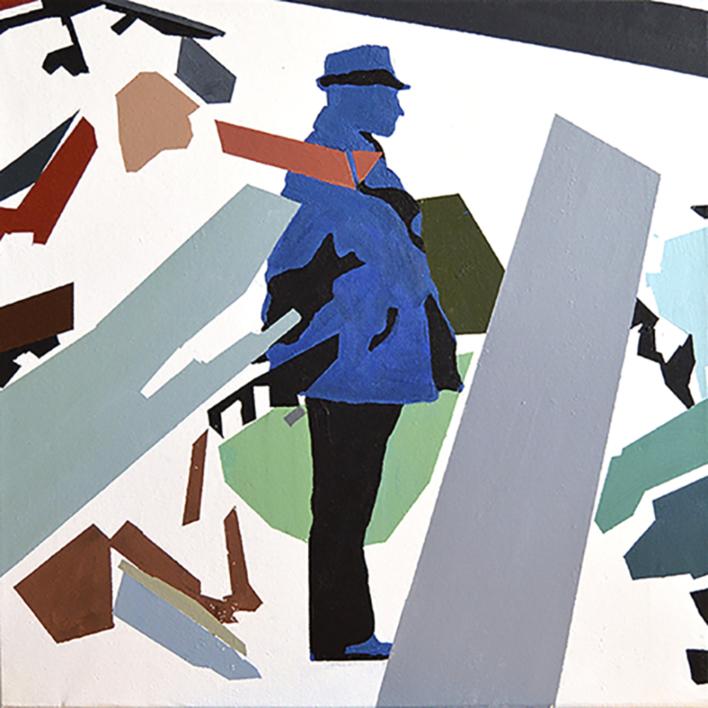 RESILIENTE_01_001 |Pintura de José Luis Albués | Compra arte en Flecha.es