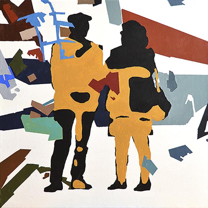 RESILIENTE_01_013 |Pintura de José Luis Albués | Compra arte en Flecha.es
