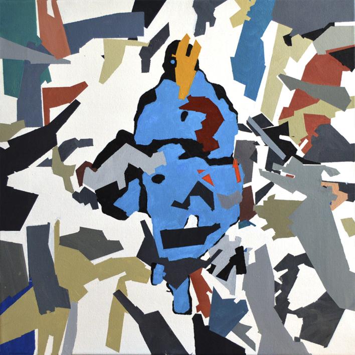 RESILIENTE_01_022 |Pintura de José Luis Albués | Compra arte en Flecha.es